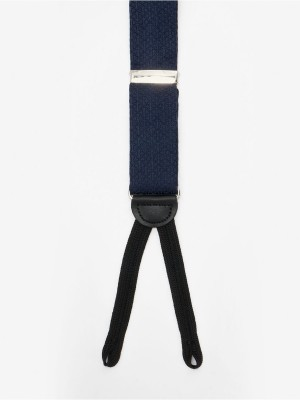 Formal Navy Crossbow Suspenders