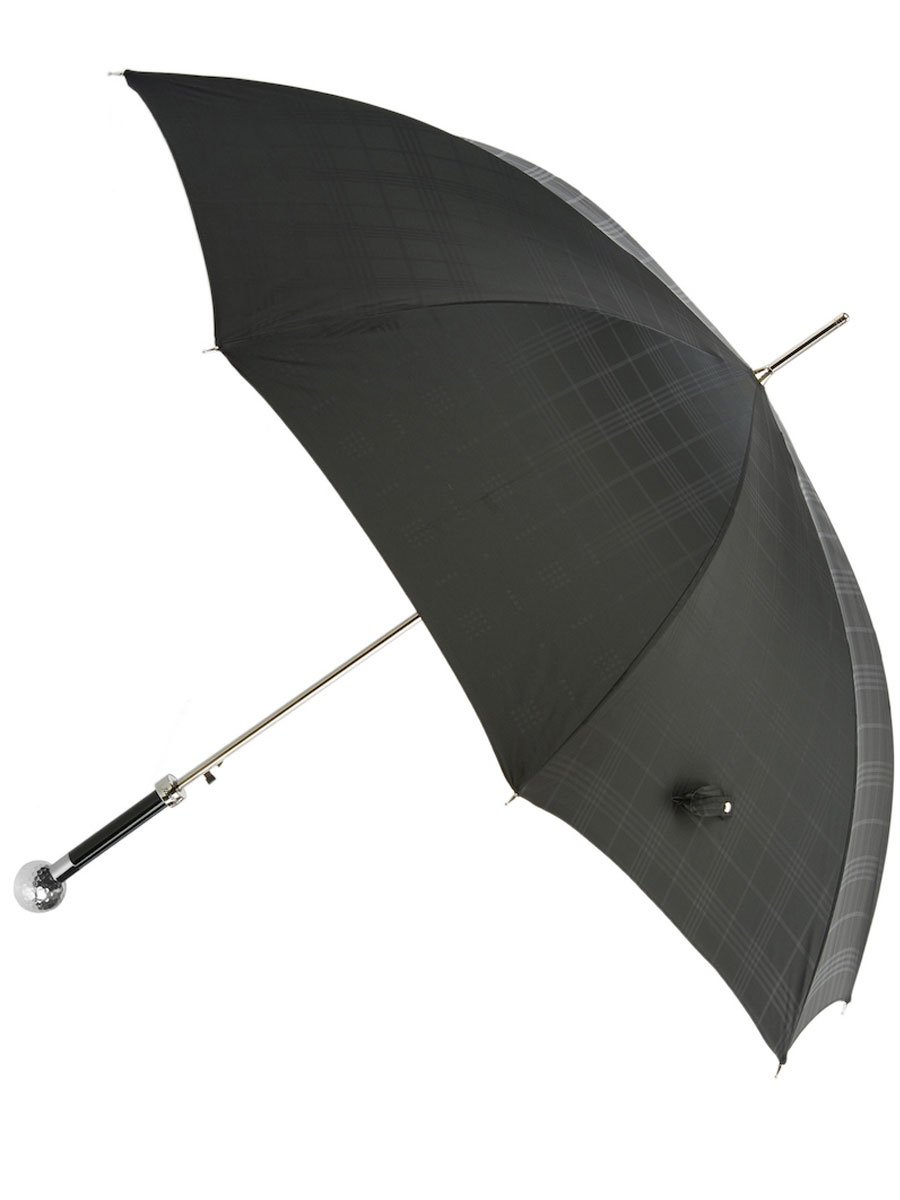 Silver Golf Ball Umbrella