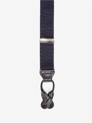 XL Hudson Navy Suspenders