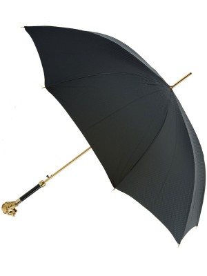 Gold Lion Head Umbrella