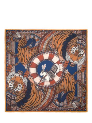 The Tasseled Tigers Cobalt/Copper