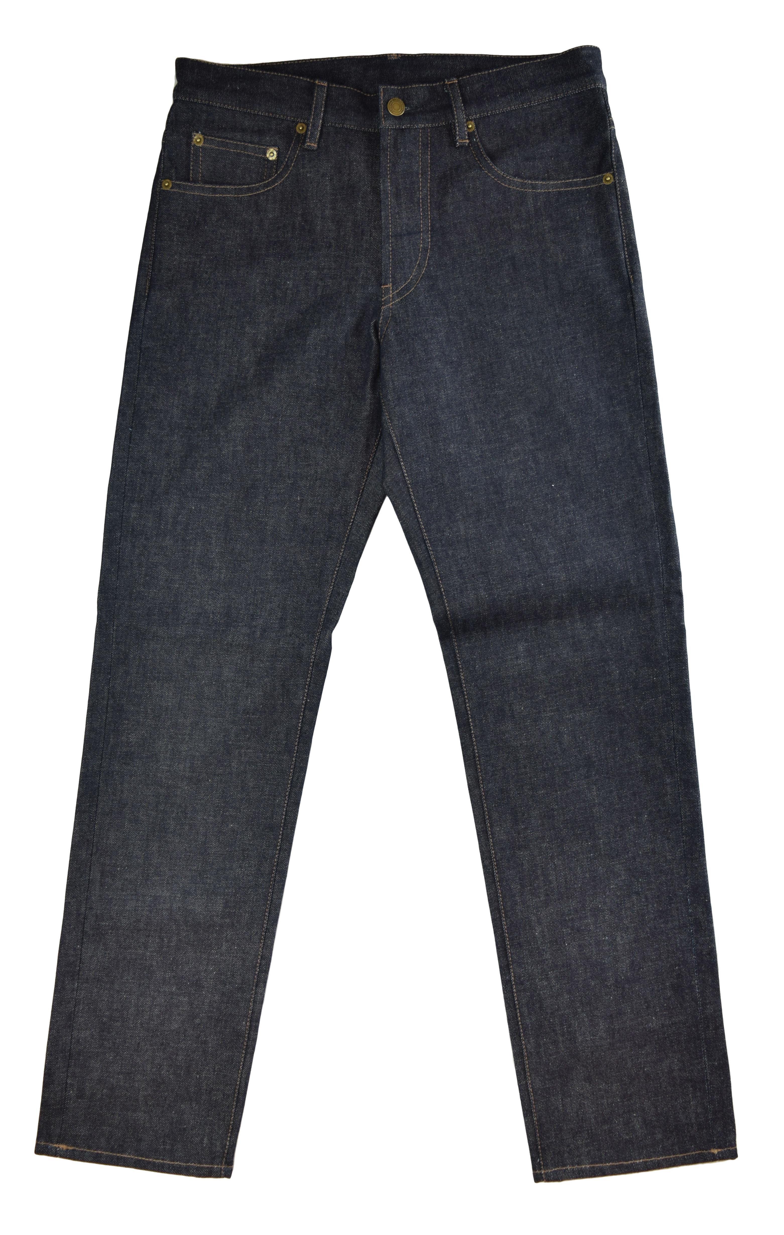 Deep Indigo Medium Weight Selvedge Jeans