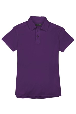 Purple Pique Polo Shirt