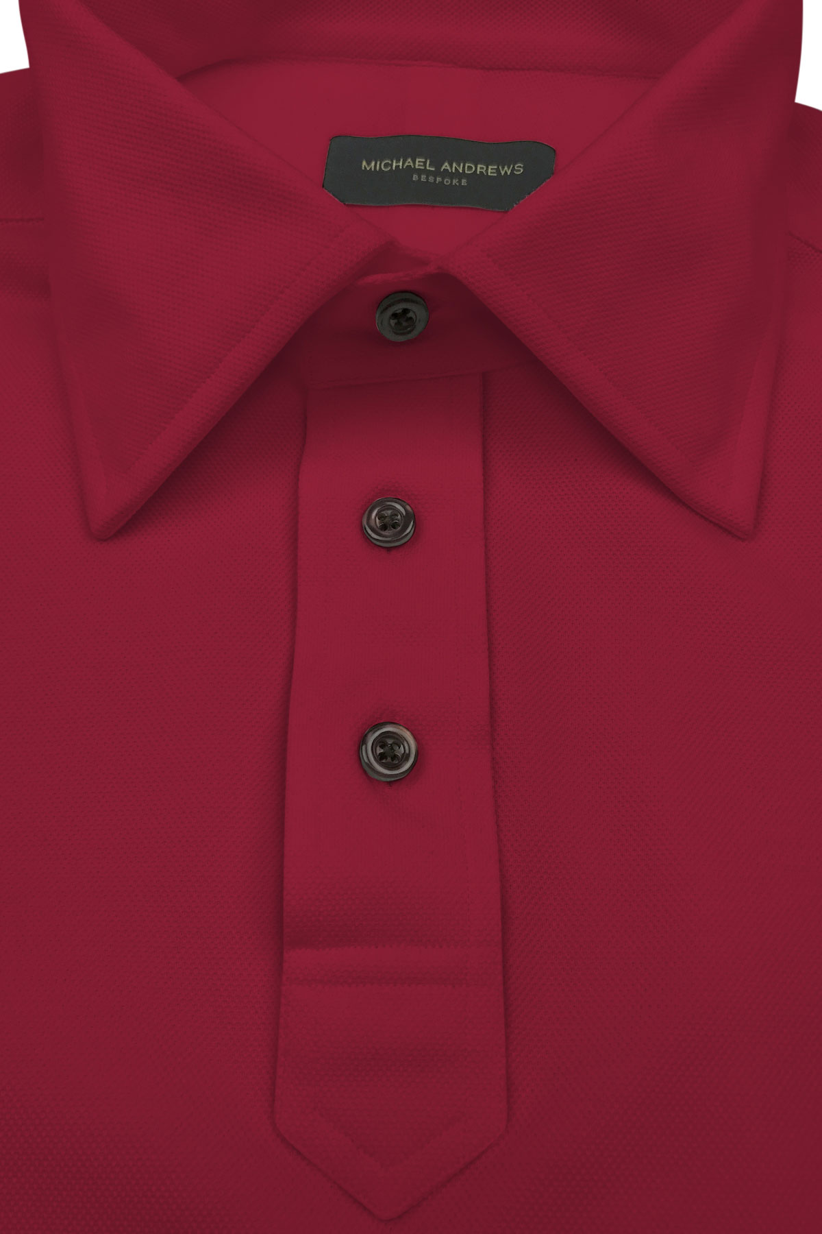 Crimson Pique Polo Shirt