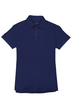 Royal Blue Pique Polo Shirt