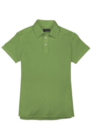 Light Fern Green Pique Polo Shirt