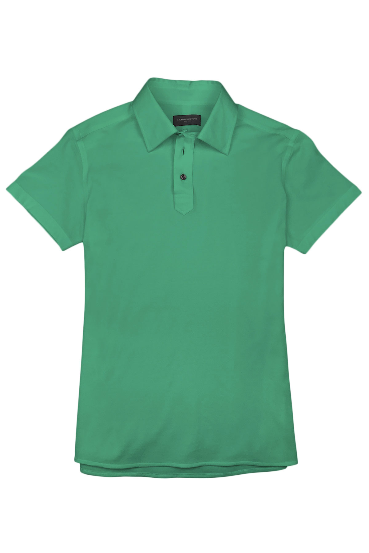 Mint Green Pique Polo Shirt