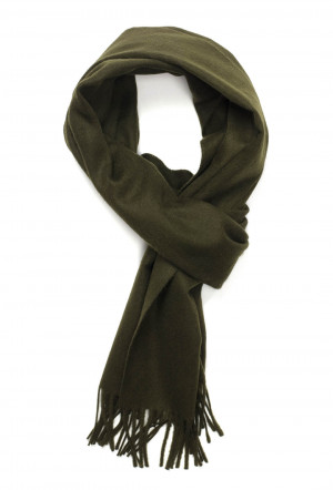 Arm Drab Classic Cashmere Scarf