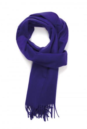 Bright Purple Classic Cashmere Scarf