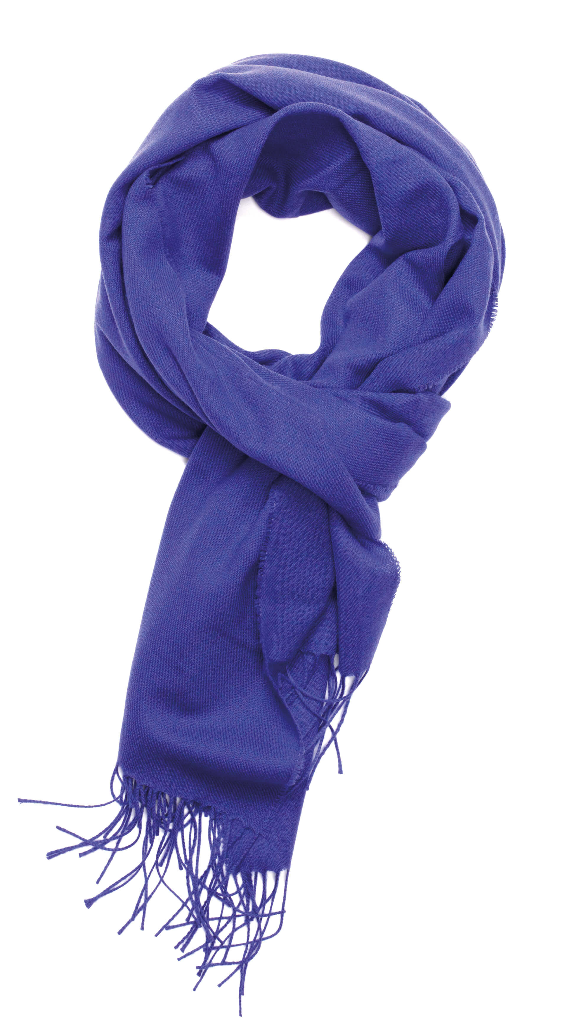 Passion Fruit Solid Lightweight Scarf Cashmere Scarf