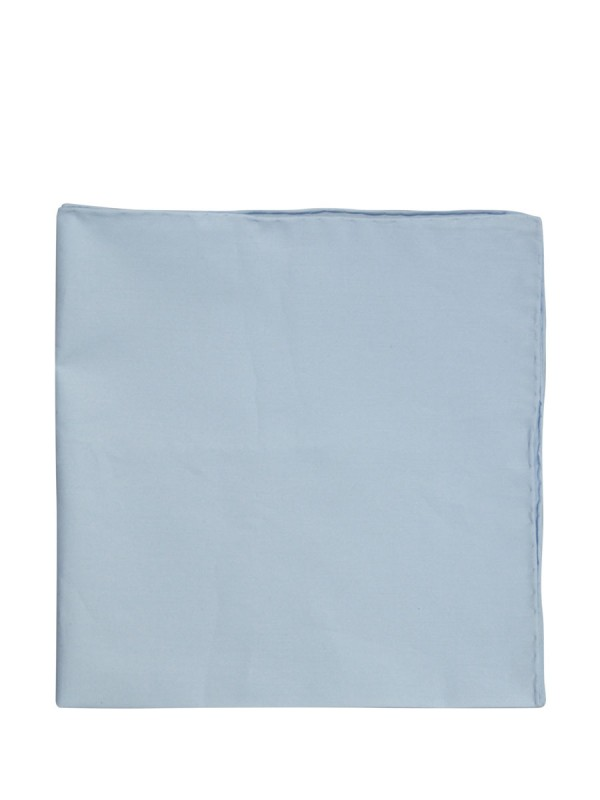 Light Blue Solid Pocket Square