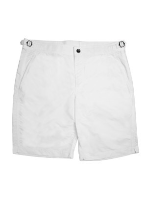 Custom Swim Shorts (White)