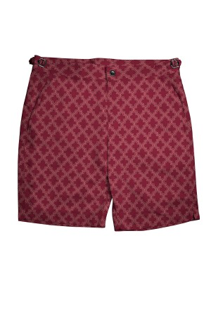 Red Moroccan Swim Shorts