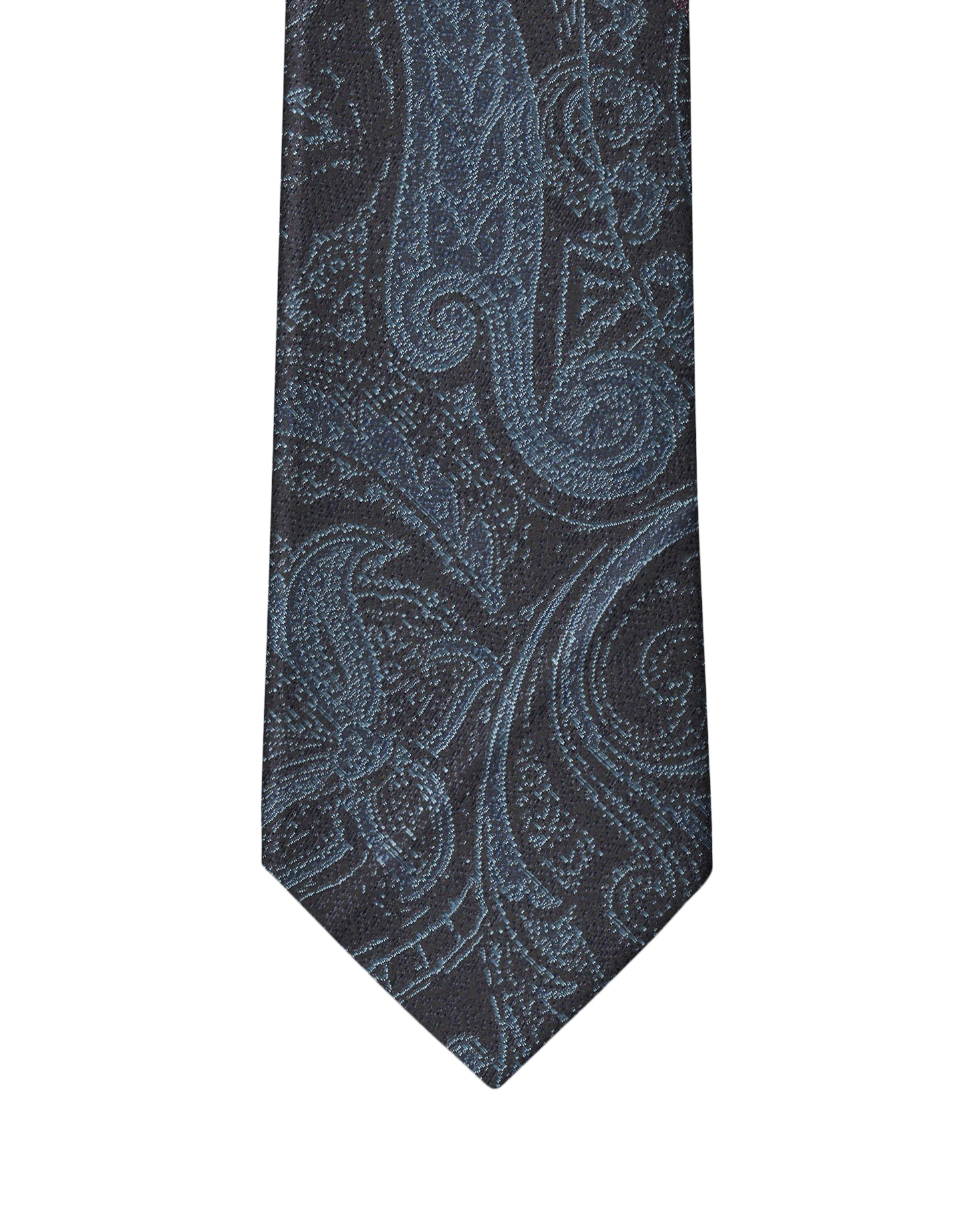 Navy & Blue Persian Paisley Necktie