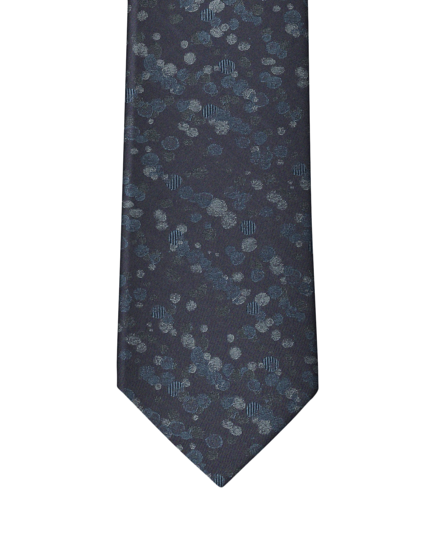 Blue Abstract Dot Necktie