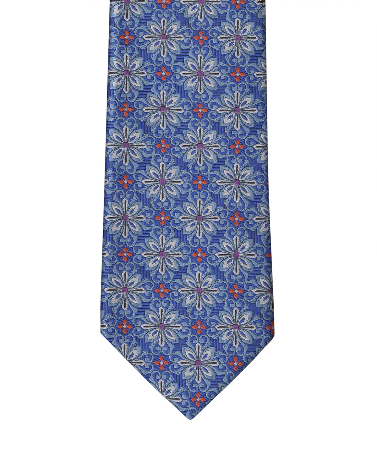 Royal Blue Medallion Necktie