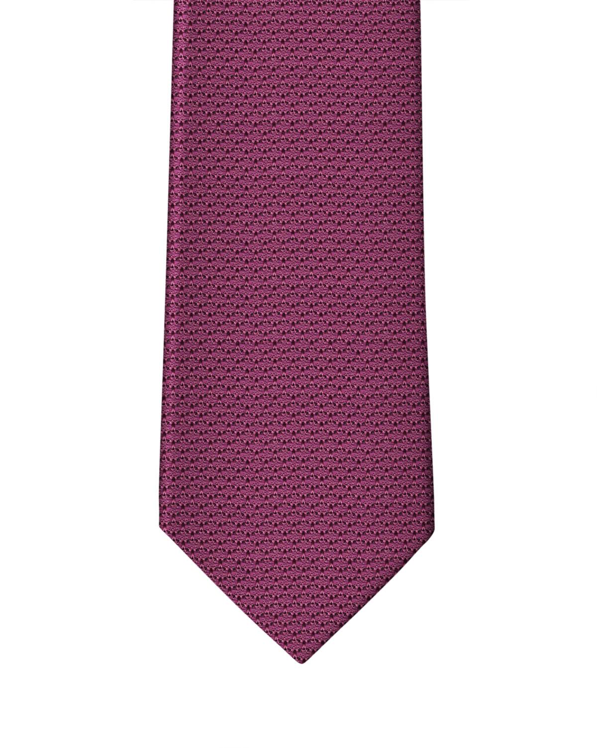 Magenta Grenadine Necktie
