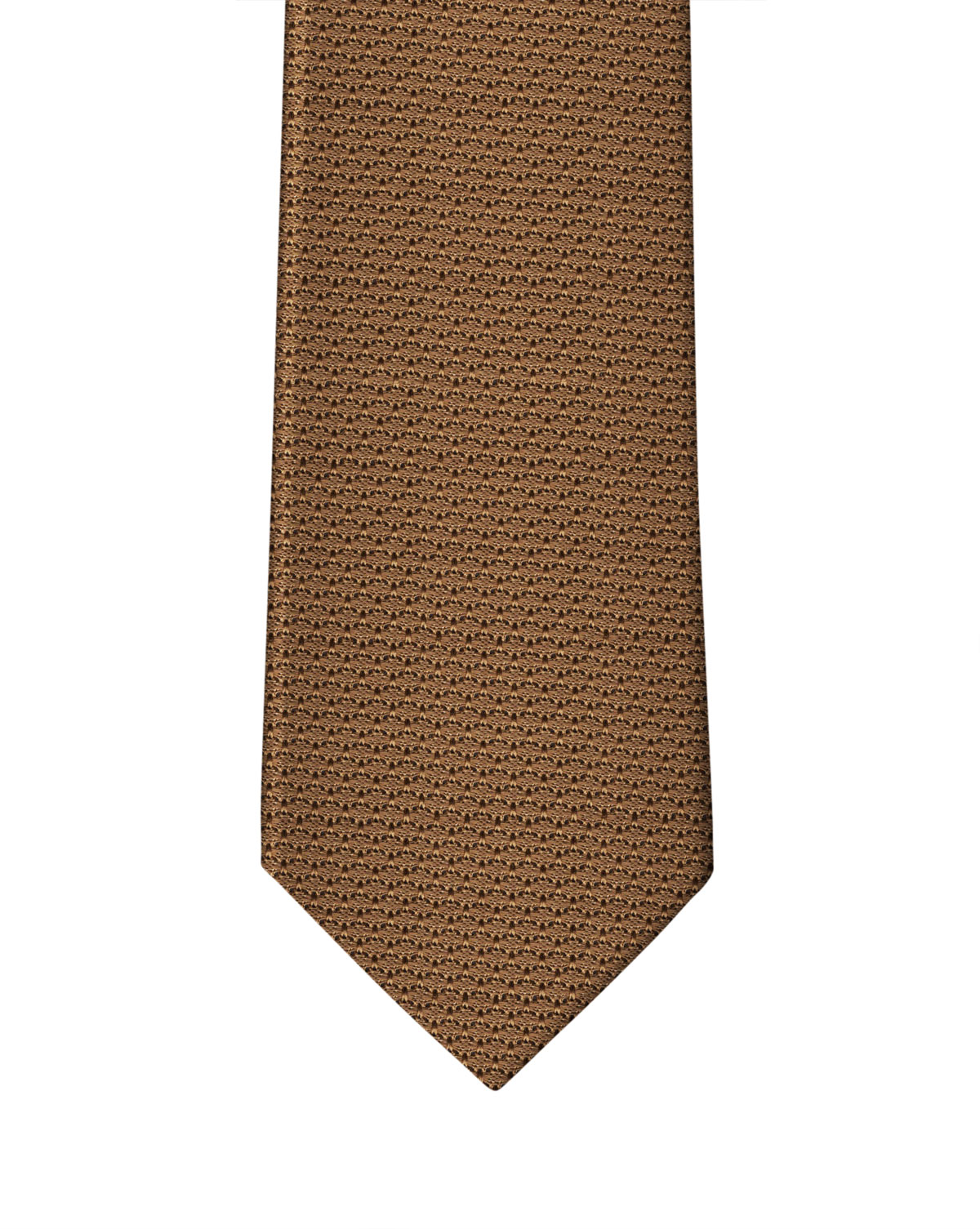 Light Mocha Grenadine Necktie