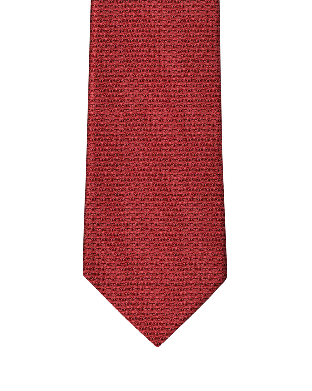 Bright Red Grenadine Necktie
