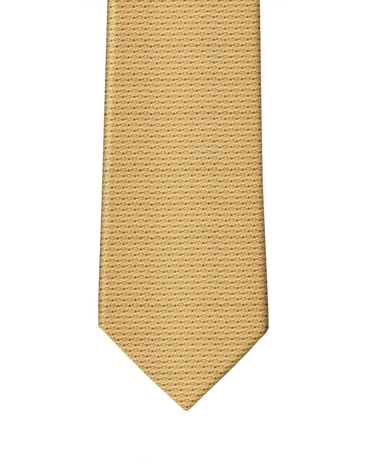 Yellow Grenadine Necktie