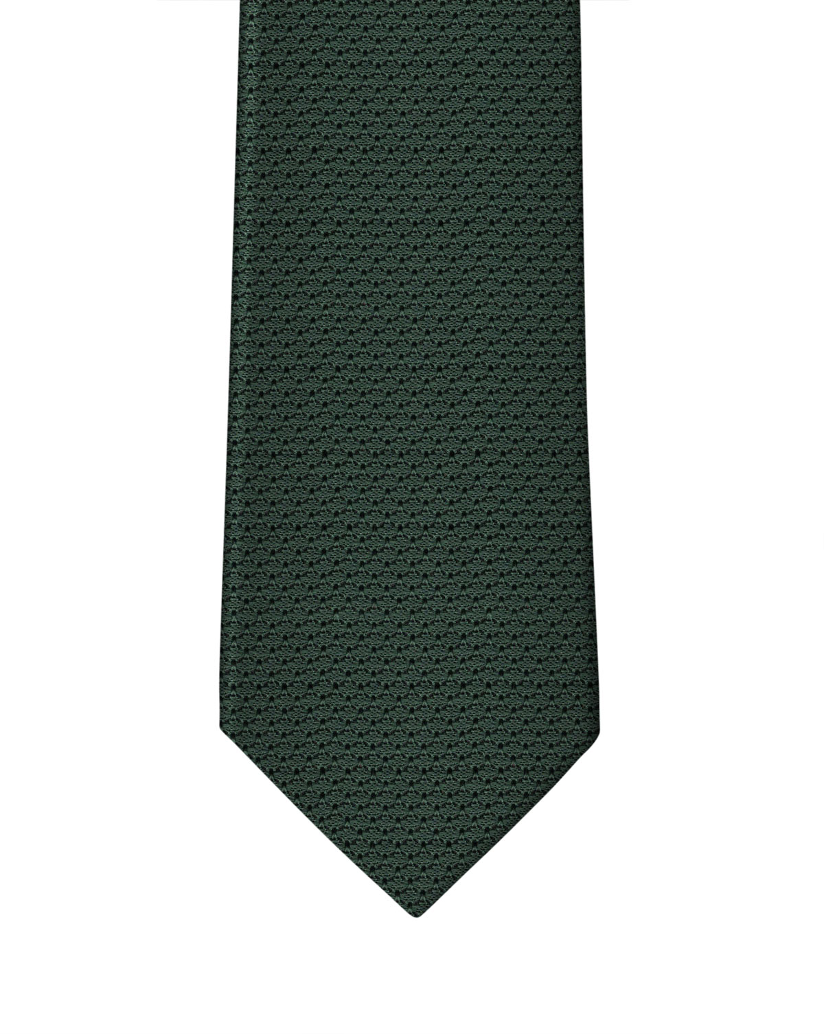 Hunter Green Grenadine Necktie