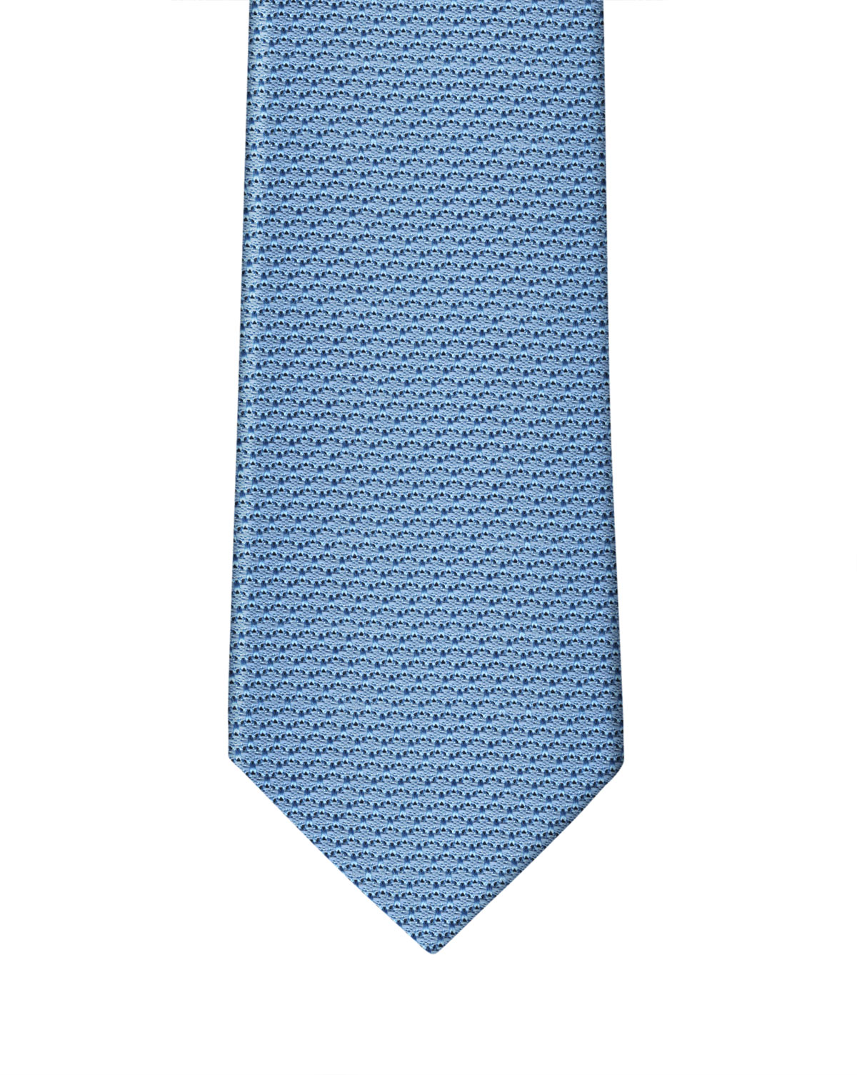 Cornflower Blue Grenadine Necktie