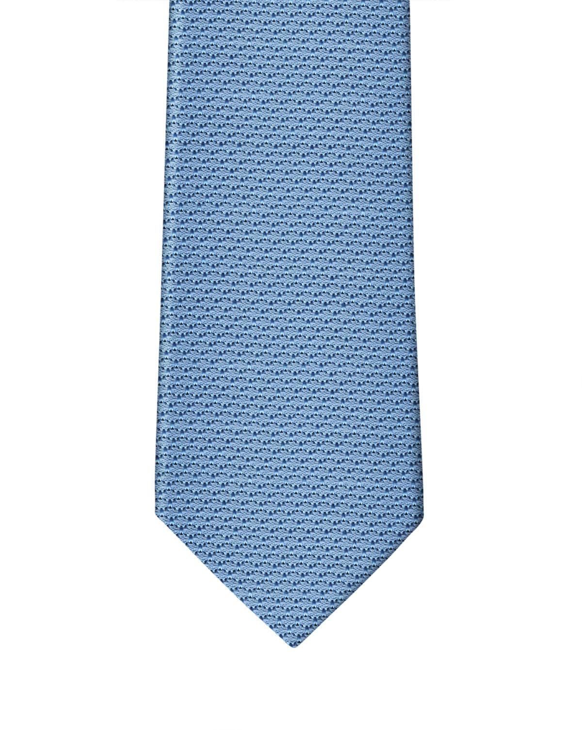 Cornflower Blue Grenadine Necktie