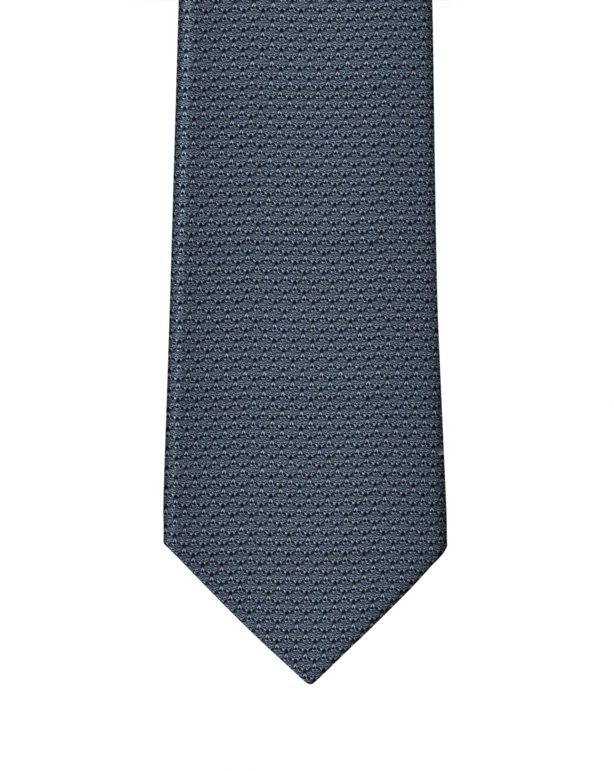Cadet Blue Grenadine Necktie