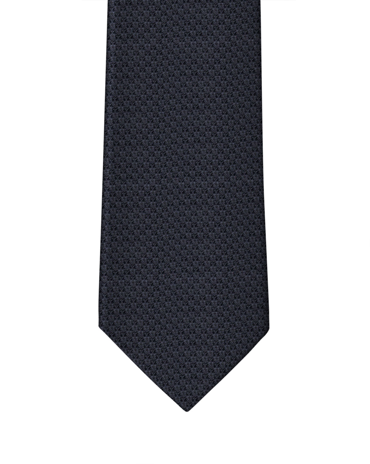 Midnight Blue Grenadine Necktie