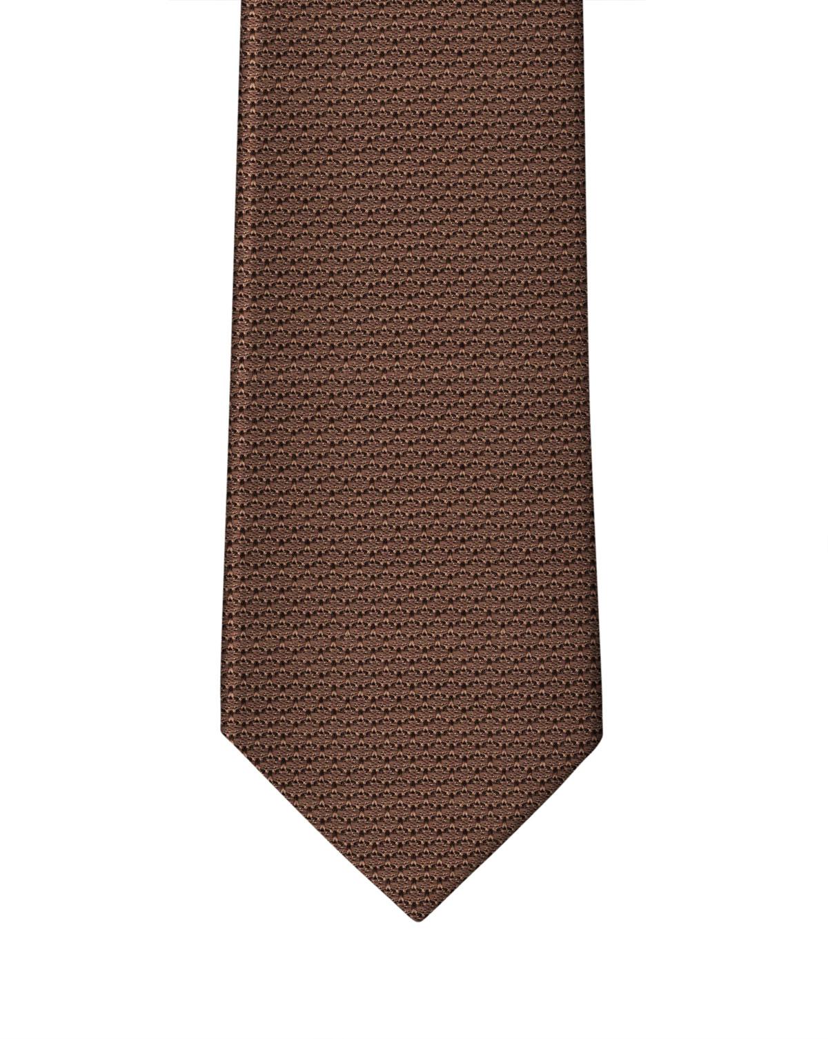 Caramel Brown Grenadine Necktie