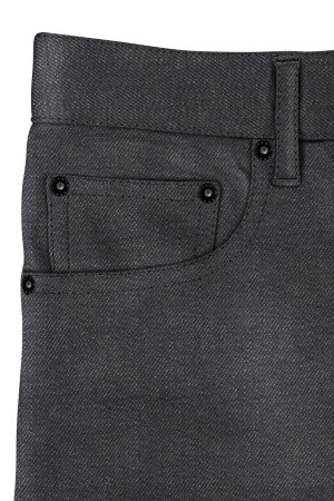 Traditional Grey Medium Weight Selvedge Jeans