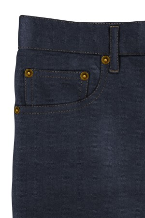 Med Blue Medium Weight Selvedge Jeans