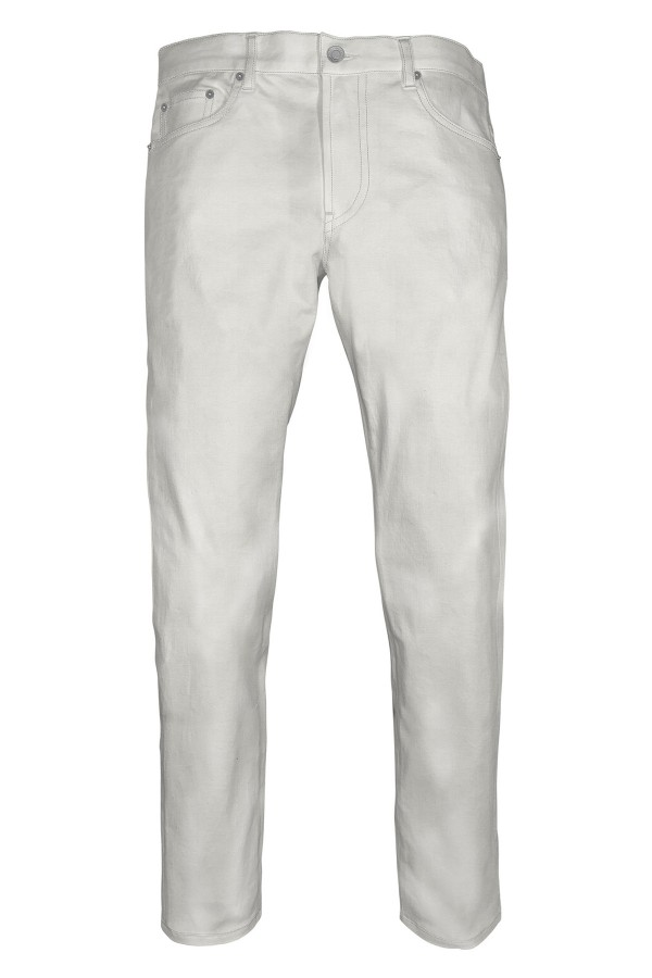 White Lightweight Selvedge Jeans