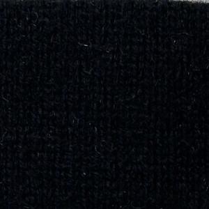 Black Cashmere Crew Neck Sweater