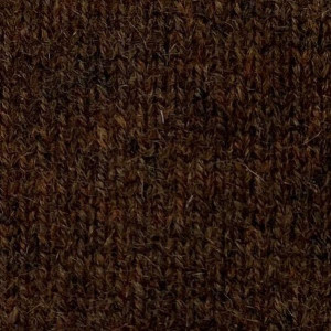 Mace Brown Cashmere Heavy Ribbed Shawl Sweater Jacket