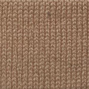 Camel Cashmere 1/4 Zip Mock Sweater