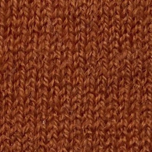 Rust Merino Wool Crew Neck Sweater