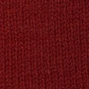 Red Merino Wool Crew Neck Sweater