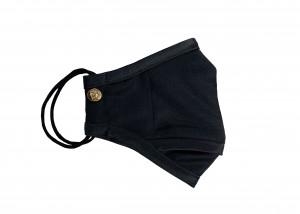 Black Wool Tuxedo Mask (Large)