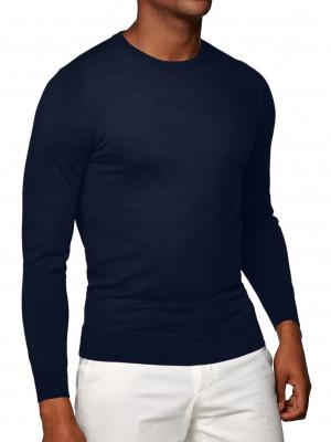 Midnight Cashmere Crew Neck Sweater