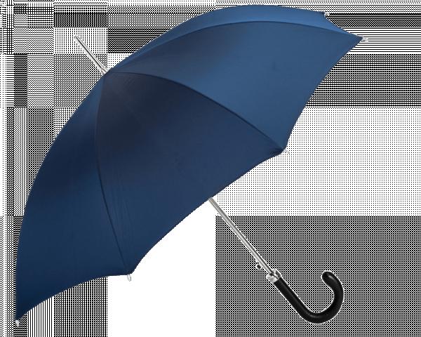 Blue Umbrella w Leather Handle
