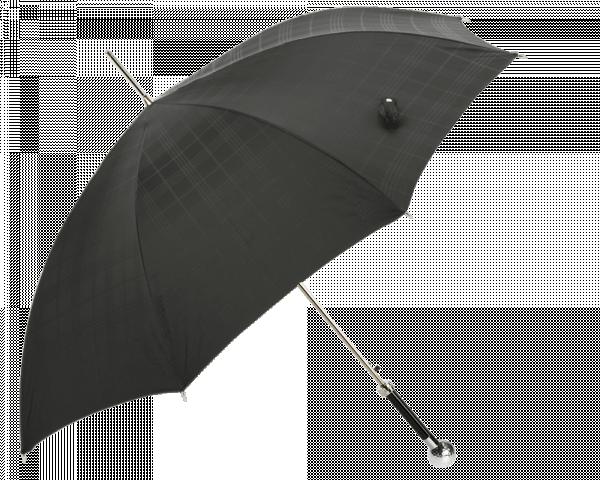 Silver Golf Ball Umbrella