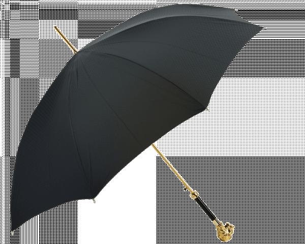 Gold Lion Head Umbrella