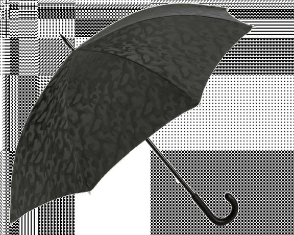 Black Camouflage Black Padded Leather