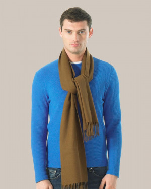 Toffee Classic Cashmere Scarf