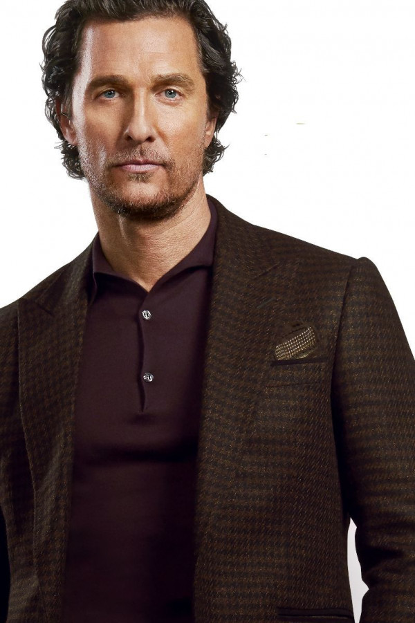 Beetroot Silk Cashmere Long-Sleeve 3-Button Polo