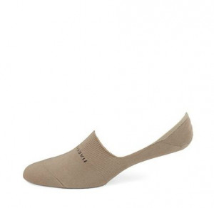 Chino Beige Invisible Anklet Cotton Socks