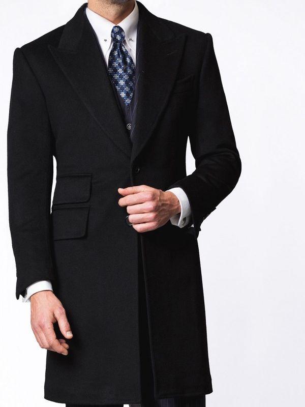 Midnight Signature Bespoke Overcoat