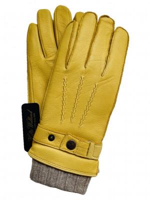 """""""3 in 1"""" Saddle Deerskin & Wool Gloves"""