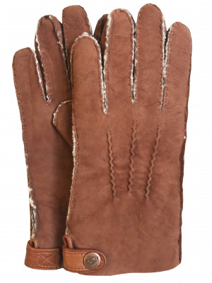 Handsewn Double-Faced Shearling Gloves
